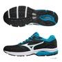 超低優惠 MIZUNO(男)慢跑鞋 WAVE SURGE 大尺碼30CM 一般型 運動鞋 J1GC171373 (黑藍)