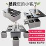 升級版多功能變形茶几餐桌組(可折疊、升降以及儲物)收納起來可當茶几,展開後可當工作檯與餐桌使用