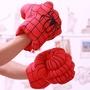 拳頭拳套 漫威復仇者聯盟4鋼鐵人手套綠巨人手套蜘蛛人手套浩克拳擊手美國隊長綠巨人毛絨枕頭薩諾斯無限手套