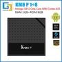 2019 免運 安卓電視盒KM8 P  網絡電視盒 S912 八核播放器 TV BOX 1G/8G WiFi