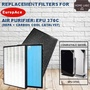 Compatible Filter For Europace Air Purifier EPU 370C