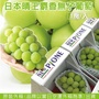 【果之蔬】日本晴王麝香葡萄禮盒(600g±10%/串)