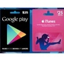 United States USA Google Play & iTunes Gift Cards (USA Store)
