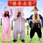 節日服裝豬年豬造型卡通人偶服裝充氣豬衣服粉色動物衣成人男女年會舞蹈套