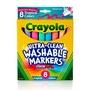 Crayola繪兒樂 - 可水洗粗錐頭彩色筆繽紛色8色