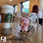 全家迪士尼雙層玻璃杯玩具總動員三眼怪火腿豬