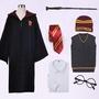 哈利波特魔法袍 圣誕節哈利波特衣服哈利波特cosplay斗篷魔法披風