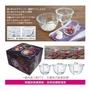 超值限量-特價HARIO深型厚實耐熱玻璃大容量調理碗/沙拉缽 3入組
