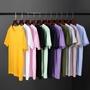 現貨在庫   短T  T恤 素面T 短袖 圓領 純棉 素色T 夏季 圓領 簡約 百搭 低價 批發 男女可穿