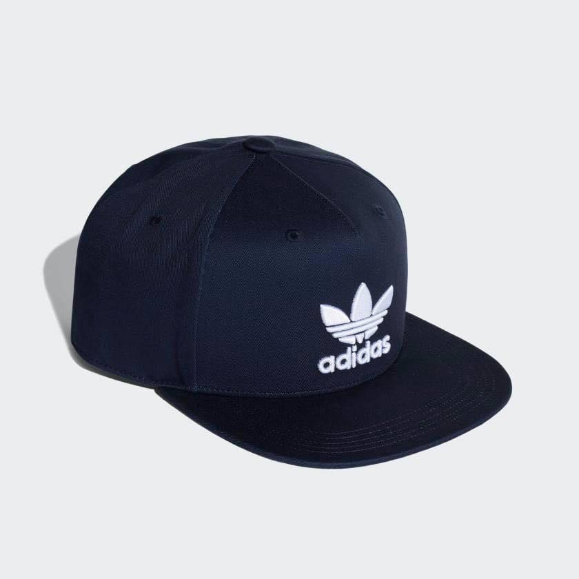 d2388b99162db ADIDAS Originals Trefoil SnapBack 深藍棒球帽DH4282