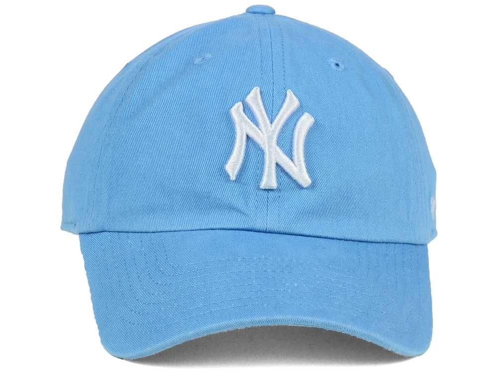 0acc240b5a588 47 New York Yankees 洋基MVP 棒球帽(水藍)