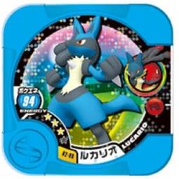 神奇寶貝Tretta方形卡匣 3彈 三星卡 3星 (02-06) 路卡利歐 超進化 (台機可刷)