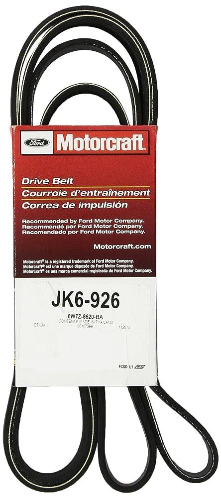 Motorcraft JK6834AA V-Ribbed Belt