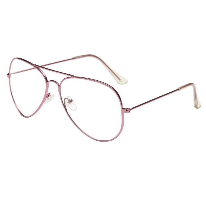 dd11b498b8 Dorianeshop Men Women Clear Lens Glasses Metal Spectacle Frame Myopia  Eyeglasses Lunette Fe - intl