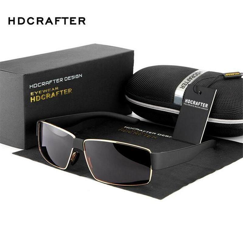 100537bd8a3 Atime Summer Style Men Fashion Sun Glasses Square Sunglasses Polarizing  Eyeglasses Men Wind Mirror Glasses