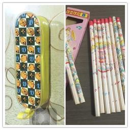 全新 迪士尼小熊維尼鉛筆盒 鉛筆包 送鉛筆