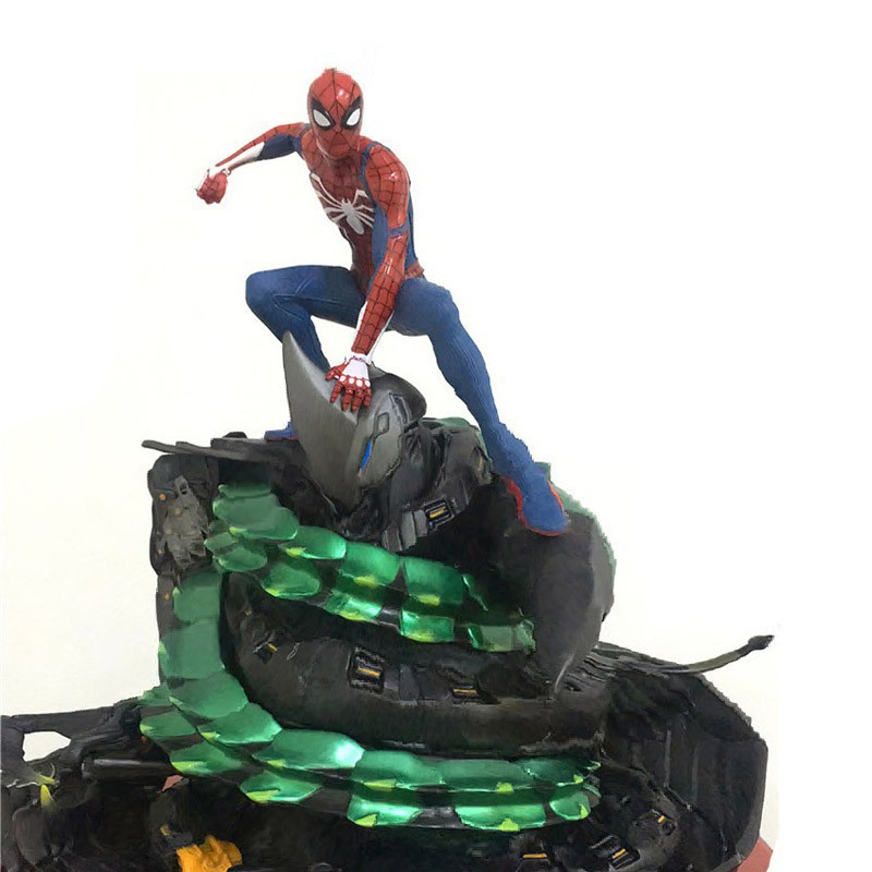 Marvel Comics Spiderman 1//10 Battle Action Figure Collectible Statue PS4