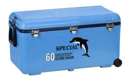 【魚戰釣具】冰寶休閒釣魚冰箱60L(附小蓋) TH-620