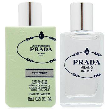 3892402372e6 PRADA 鳶尾雪松精萃淡香精8ml+隨機針管香水一份