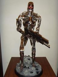 sideshow  T-800骨骼全身雕像