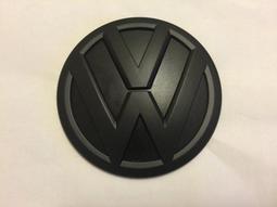 VW 福斯 LOGO MARK 水箱罩標誌 TIGUAN TSI TDI 後標 全霧黑/消光黑