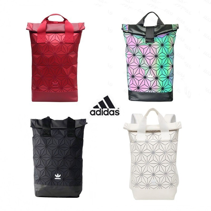 96a80cd9058d Limited Edition Adidas x Issey Miyake 3D Urban couple Men Women Backpack Bag