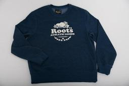 **C.F.**100%加拿大ROOTS 專櫃新品深藍色-限定男 (AF AE ROOTS HOLLISTER)