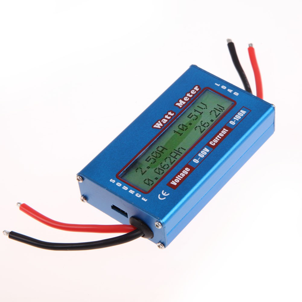 Precision Rc 130A Watt Meter And Power Analyzer Lcd Gt-Power 60V  UE