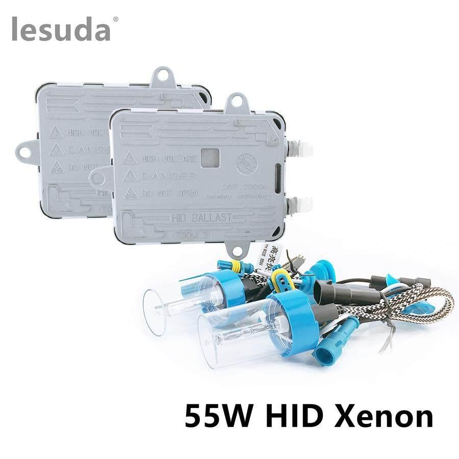 55W HID Xenon Bulbs Headlight Slim Ballast Conversion Kit H1 H3 H4 H7 9005 9006#