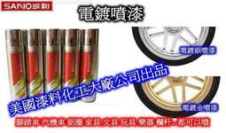電鍍噴漆 (電鍍金色) ~ 金屬電鍍感
