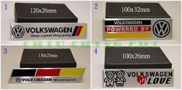 ~3枚免運~福斯 VW 鋁製裝飾車貼 標誌