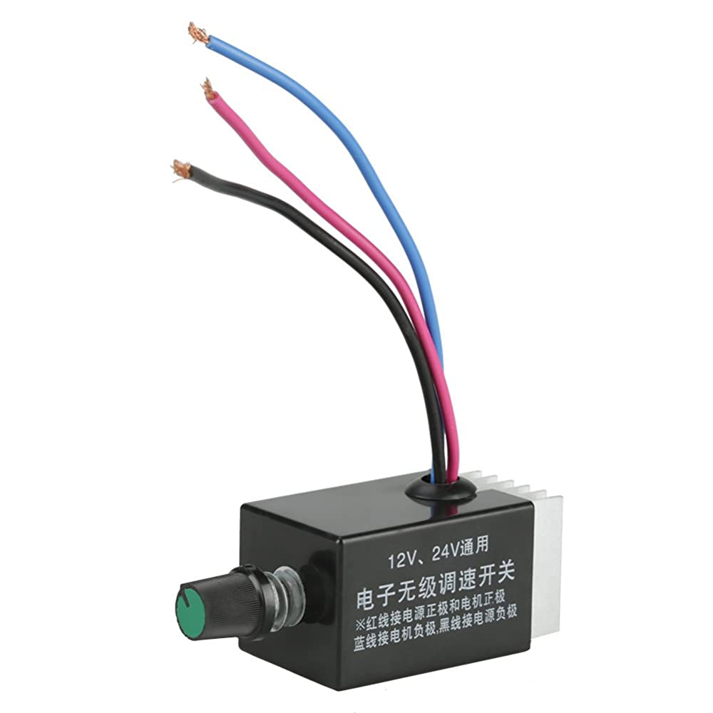 Controls & Indicators ZJLBTY CCM5D speed controller LED