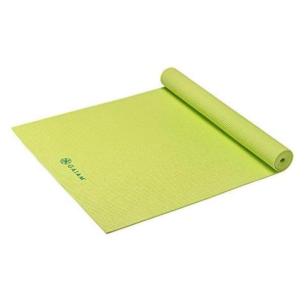 Gaiam Kids Yoga Mat, Lime, 3mm - intl