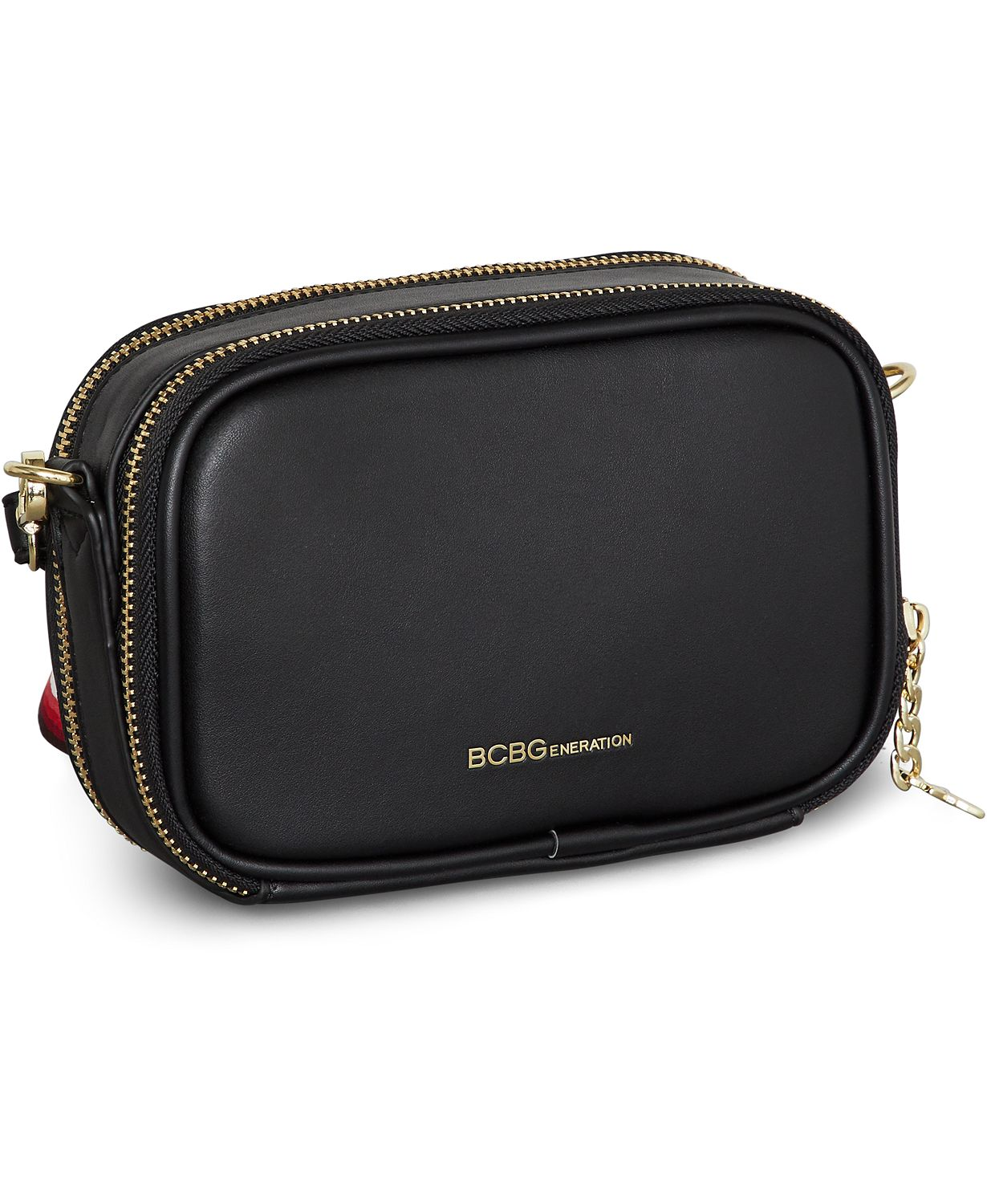 d6b611ee84 BCBGeneration Quinn Faux-Leather Camera Bag
