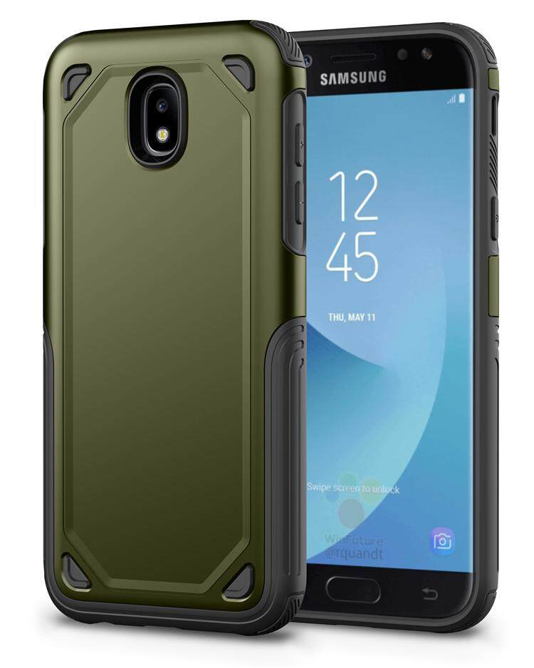 For Samsung Galaxy J7 Prime / ON7 (2016) PC + Silicone TPU Military Anti