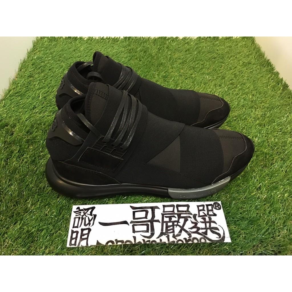 一哥嚴選  Yohji Yamamoto Y-3 Qasa High black 銀方塊 6d3d3e9f532c