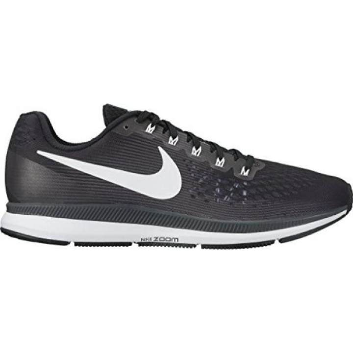 6c280a27efc2 Nike Mens Air Zoom Pegasus 34 Running Shoe Black (11) - intl