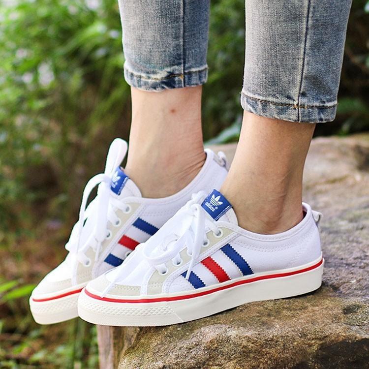 瑾兒代購Adidas Nizza Lo 韓國流行帆布鞋休閒百搭校園風男女 2984b192f430