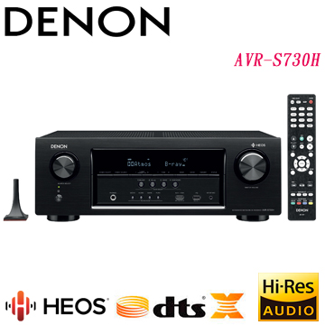 DENON 環繞收音擴大機 AVR-S730H