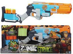 Nerf Zombie 殭屍系列 散彈槍Strike Sledgefire Blaster 孩之寶 軟子彈玩具槍 軟彈頭