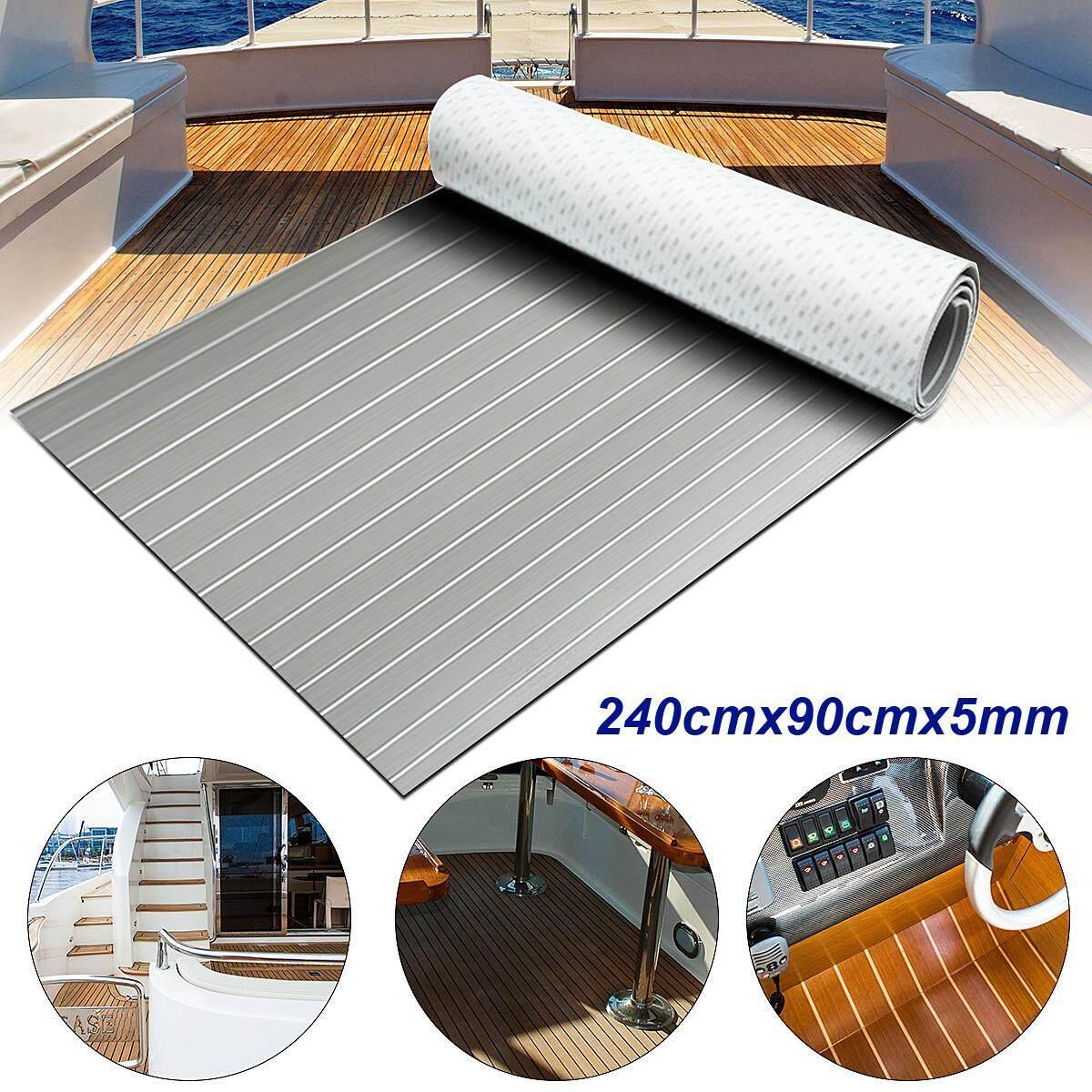 "4Pcs Eva Soft Foam Floor Interlocking Mat 24"" Baby Room Crawl Play House Office Coffee"