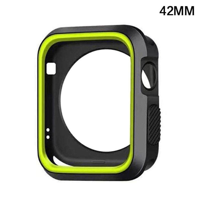 Hiqueen 42mm For Apple Watch iWatch Series 1 2 3 Silicone Protector Cover Case Screen