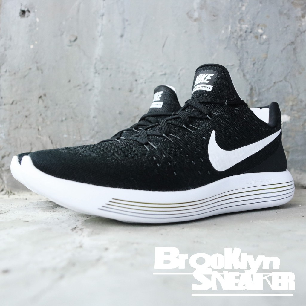 5b9995f0e4ed9 Nike Lunarepic Low Flyknit 2 黑白男(布魯克林) 2018 4月863779001