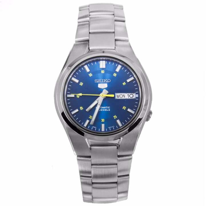 Seiko 5 Automatic Blue Dial Stainless Steel Casual Watch SNK615K1 SNK615K SNK615