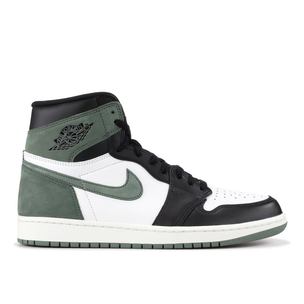 check out 0d173 38654 《CLASSICK》AIR JORDAN 1 RETRO HIGH Clay Green 白黑綠555088-135