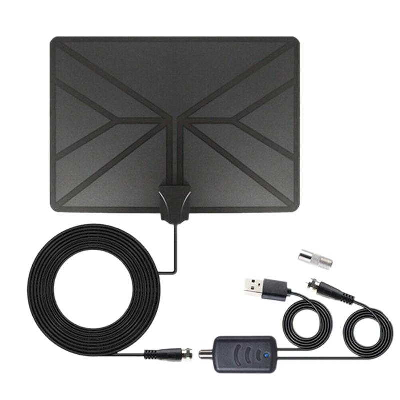 960 Mile Range Antenna 1080P HD Digital Indoor Amplified TV Freeview 4K HDTV