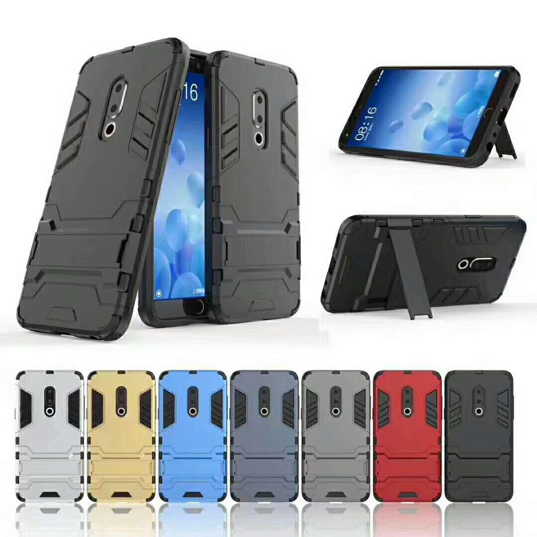 For OPPO REALME 1 / A73S phone case Iron Man 2-in-1 protection