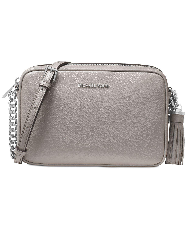 d352c6a10b MICHAEL Michael Kors Ginny Pebble Leather Camera Bag