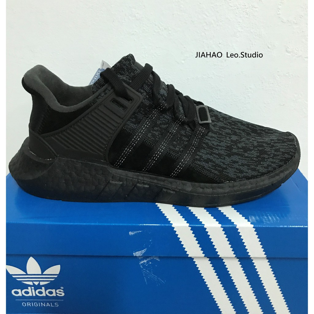 buy popular 6d9b8 40c44 ADIDAS EQT SUPPORT 9317 boost BY9509 全黑黑魂EQT
