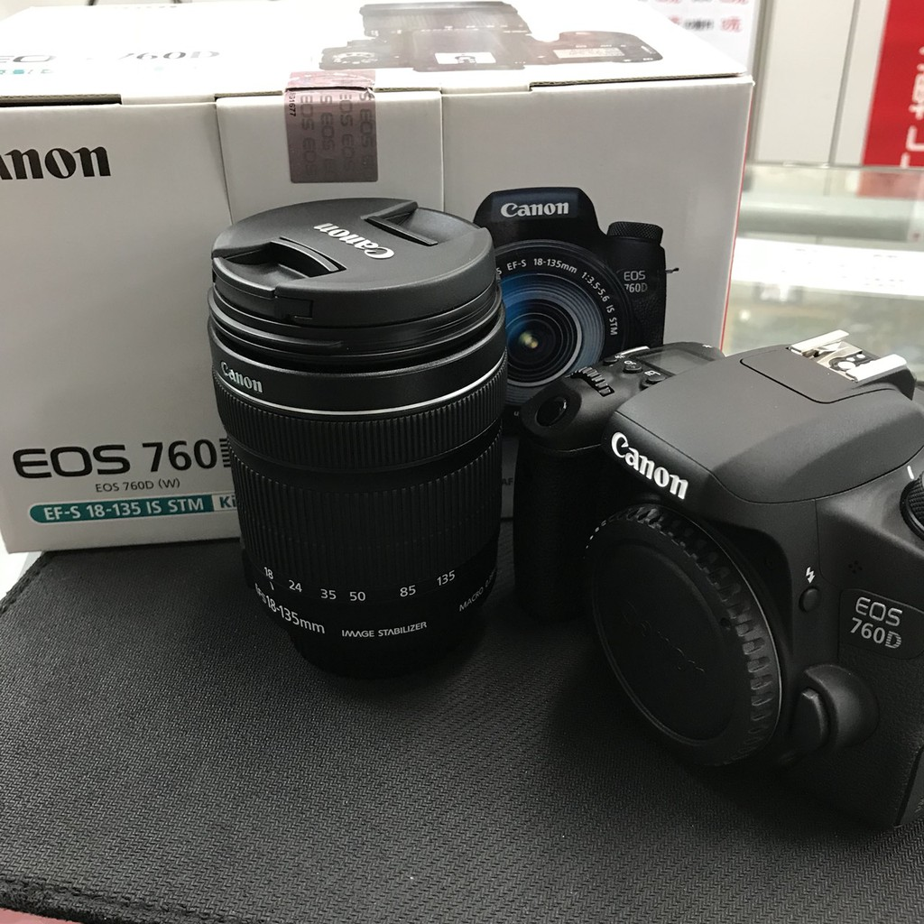 Canon 760d 18 135mm Stm Biggo Eos Kit Ef S F 35 56 Is Wifi